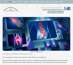 Advance Physical Therapy by HawkFeather Web Design