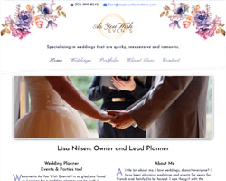 As You Wish Events by HawkFeather Web Design