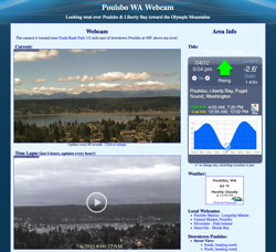 Poulsbo WA Webcam