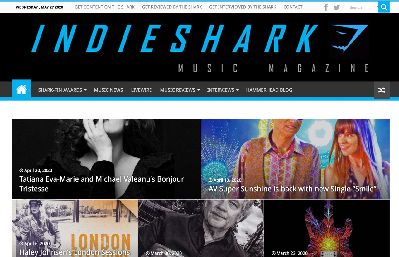 Indie Shark by HawkFeather Web Design