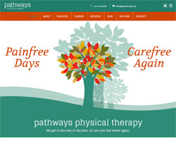 Pathway Physical Therapy by HawkFeather Web Design