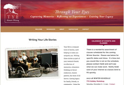 Tye Memoirs by HawkFeather Web Design