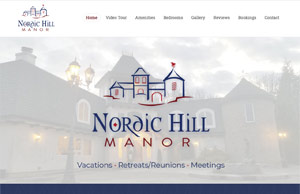 Nordic Hill Manor by HawkFeather Web Design